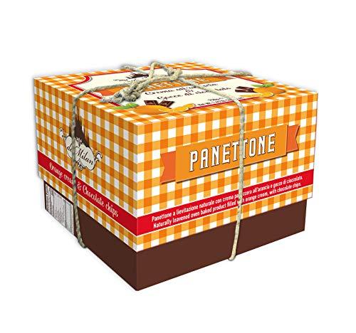 Panettone mit Schokolade und Orangencreme - De Milan - Luxury Box - 750g