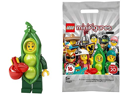 LEGO Series 20 Minifigures Peapod Costume Girl 71027