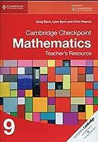 Cambridge Checkpoint Mathematics Teacher's Resource 9 (Cambridge International Examinations)