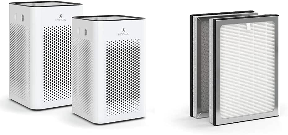Medify MA-25 Air Ranking TOP4 Purifier with one True Max 45% OFF repl additional H13 HEPA