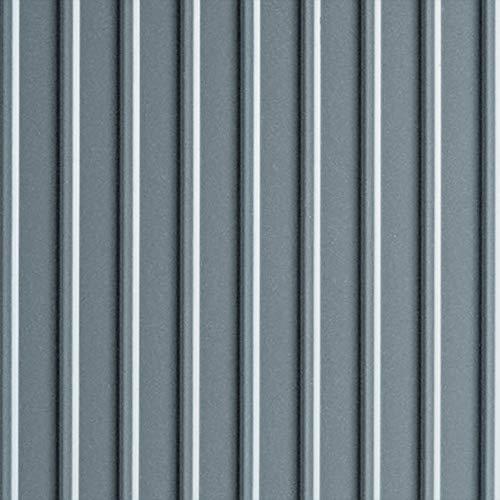 G-Floor 55 mil Ribbed 7.5' x 17' Slate Grey