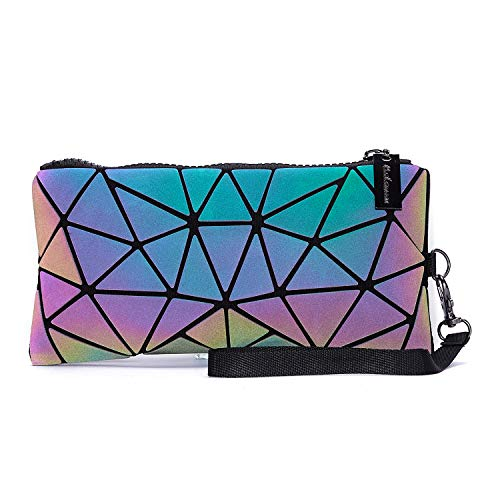 Holographic Geometric Tote Handbag Purse for Women $5.85 (55% Off with code)
