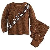 Star Wars Chewbacca Costume PJ PALS Pajamas for Baby 0-3 MO Brown