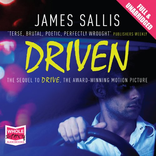 Driven audiobook cover art