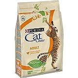 PURINA CAT CHOW Croquettes - Avec NaturiumTM - Riche en poulet et dinde - Pour chat adulte - 3 kg
