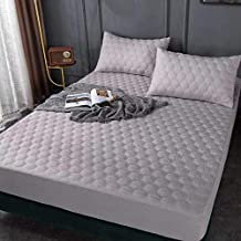 OAITE Waterproof Mattress Protector Queen Size, 100% Egyptian Cotton Breathable and Soft Mattress Cover, Vinyl-Free Hypoal...