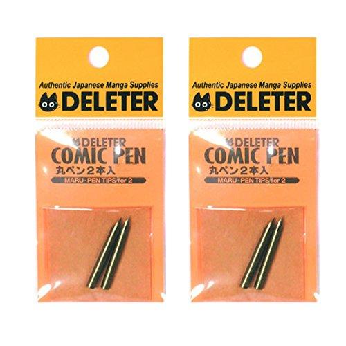 Deleter Comic Pen Nib Maru-pen 2pc - 2set