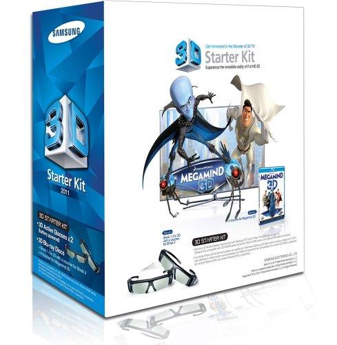 Samsung SSG-P3100M/ZG2 3D-Starter-Set inkl. Megamind (3D-Blu-Ray, 2X 3D-Brille)