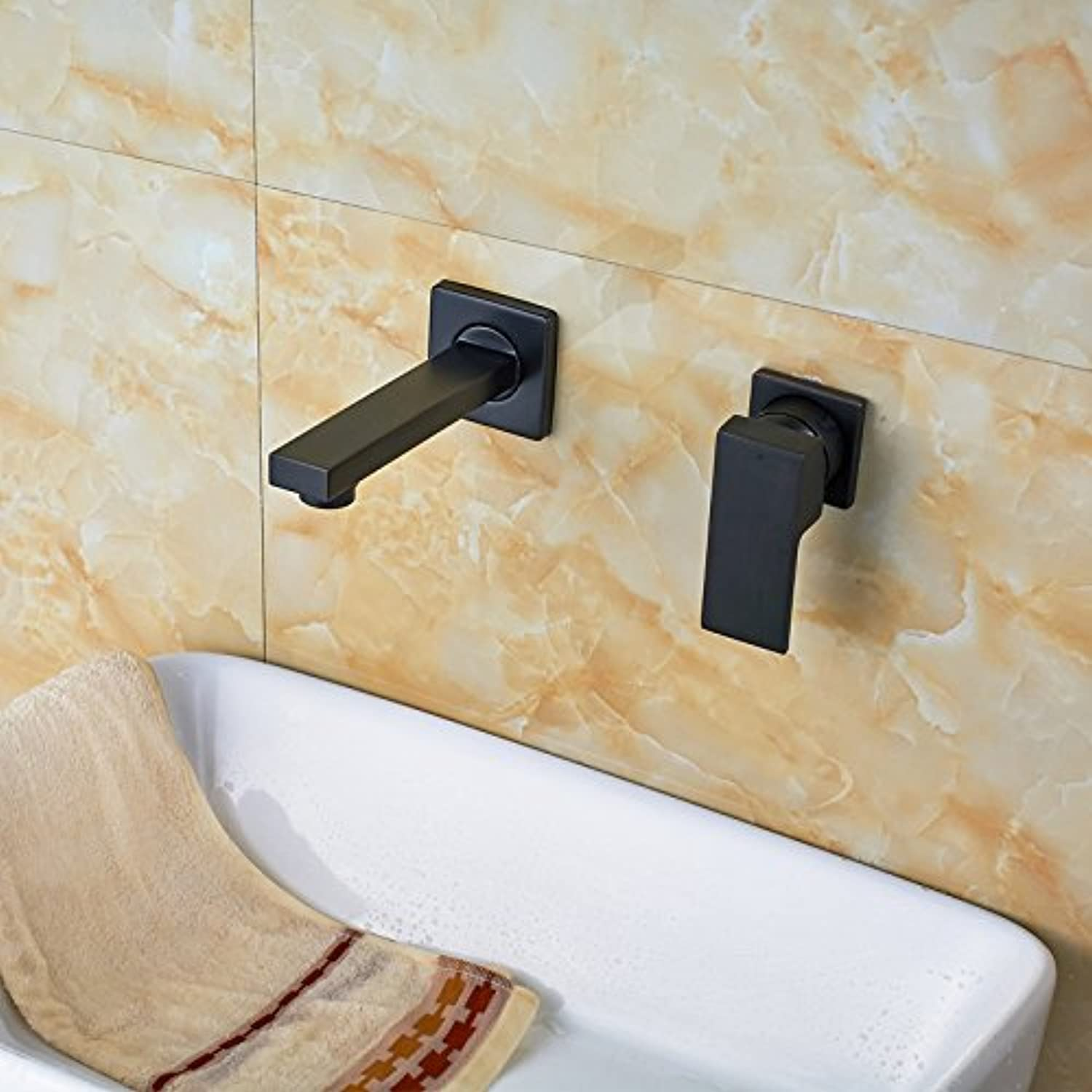 Maifeini The Best Price Free Shipping Oil Copper Bathroom Basin Series Wall Mount