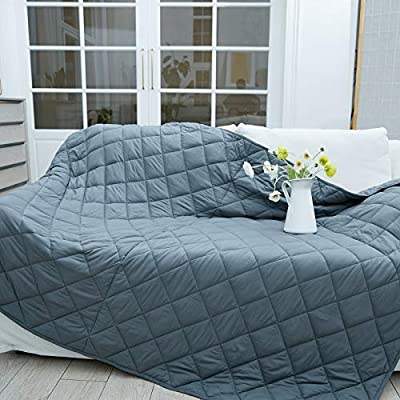 TreeCube King Size Weighted Blanket Adult 78x85 17lbs