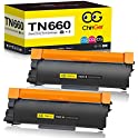 2-Pack High Yield Compatible Toner Cartridge for Brother TN660 & TN630