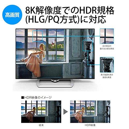 『シャープ 70V型 液晶 テレビ AQUOS LC-70X500 8K 2017年モデル』の6枚目の画像