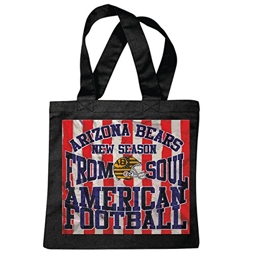 Tasche Umhängetasche Arizona Bears You Season American Football FUßBALL American Football Team Bundesliga College Football Mannschaft Baseball Shirt Football Mannschaft Einkaufstasche Schulbeutel T
