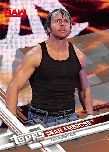 dean ambrose trading cards - 1