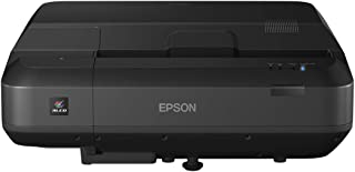 Epson EH-LS100 3LCD, Laser, Ultra Short Throw Super Resolution, 4000 Lumens, 130 Inch Display, 5 Year Warranty, Home Cinem...