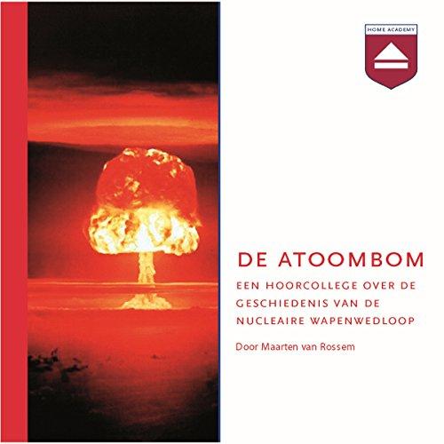 De atoombom audiobook cover art
