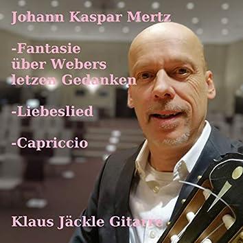 Johann Kaspar Mertz: Three Pieces