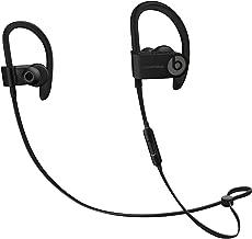 Beats by Dr. Dre Powerbeats3 ML8V2LL/A Wireless Earphones With Mic - Black (Renewed)