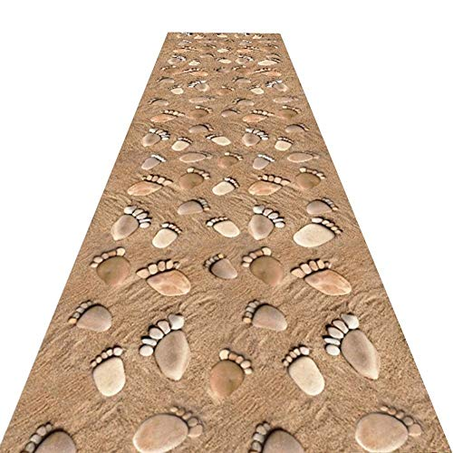 WCS Alfombra de Corredor Corredor Pasillo Pasillo Alfombra antiincrustante de Fibra química, Finalista de Boda - Ceremonia Pasillo - Alfombra VIP - Alfombra para Eventos, 2 Estilos, Varios tamaños