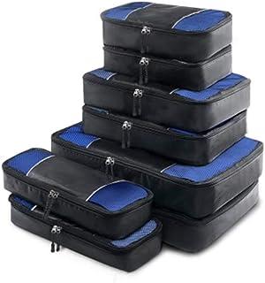 Wanderlite Packing Cube Set - 8 Pcs Travel Luggage Packing Organizer Bag Set
