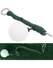 Golf Swing Sports Practice Aid, praktische intrekbare golfbal voor thuis voor buiten voor oefeningen voor achtertuin Back