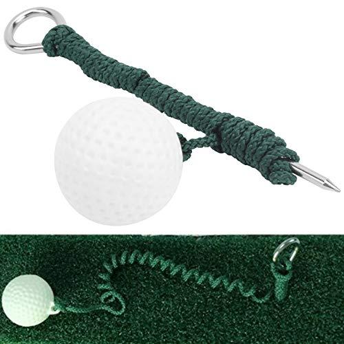 QIRG Bola de la Cuerda del Entrenamiento del oscilación de la Mosca del Golf, Bola de la Cuerda de la práctica del Golf de la Ayuda del Entrenamiento de la práctica para el Golf