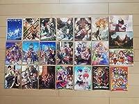 日本ファルコム「英雄伝説 空の軌跡シリーズ ポストカード 22枚セット」Falcom 空の軌跡SC 空の軌跡3th