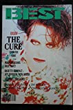 BEST 267 OCTOBRE 1990 COVER THE CURE MADONNA JOY DIVISION JIMI HENDRIX JOHNNY HALLYDAY GAMINE LES RAVES