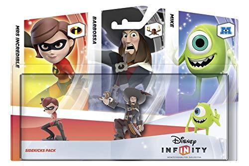 Disney Infinity - Pack 3 Figuras Companion: Helen, Barbossa, Mike
