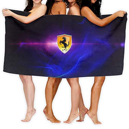 Large Puzzle Ferrari - Toallas deportivas de microfibra para gimnasio, fitness, yoga, camping