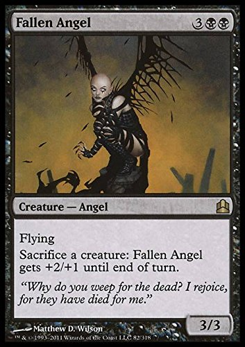 Magic The Gathering - Fallen Angel - Angelo Caduto - Commander