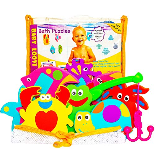 Baby Loovi bathtub toys are great for toddlers