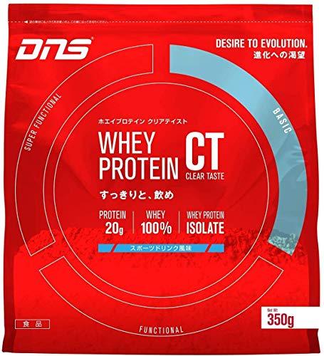 DNS ホエイ プロテイン クリアテイスト (CT) スポーツドリンク風味 350g(約14回分) WPI たんぱく質 筋トレ