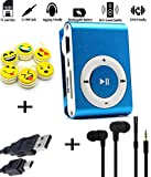 Vizykart® MP3 Music Player With Free Earphone + USB Cable & Readable Up