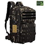 Huntvp 45L Zaino Militare Tattico Molle Zaino Uomo Grande per Trekking Campeggio Escursione Viaggio...