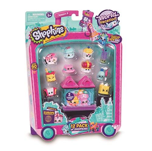 Shopkins - Pack de 12 muñecas (Giochi Preziosi HPK95011) ,