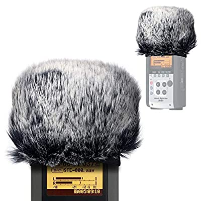 Windscreen Muff for Zoom H2n/H4n Handy Recorders, Zoom Mic Windscreen Artificial Fur Wind Screen for H2n H4n by YOUSHARES