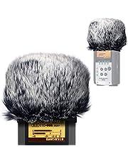 Vindruta muff för Zoom H2n/H4n praktiska inspelare, zoom mic vindruta konstgjord päls vindruta för H2n H4n av YOUSHARES