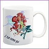 My Cust Mug Tazza Winx,Fata Aisha,Personalizzata con Nome Frase O Foto - Idea Regalo