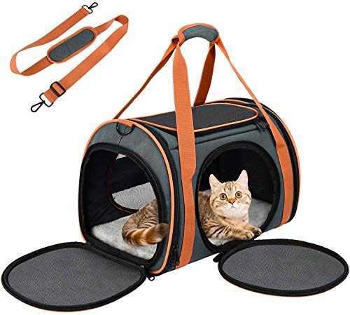 OKMEE Sac Transport Chat Lapin Chiot Solide...