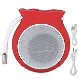 Socobeta Schöner Geschenk-Lautsprecher Tragbarer Außenlautsprecher Bluetooth...