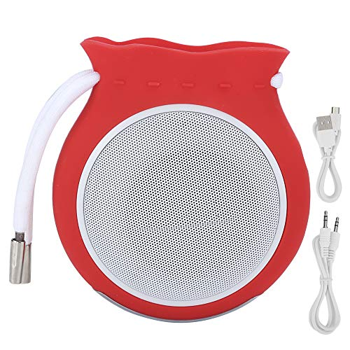 Socobeta Lovely Gift Mini - Altavoz portátil decorativo para exteriores, inalámbrico, Bluetooth, soporte para tarjeta de memoria