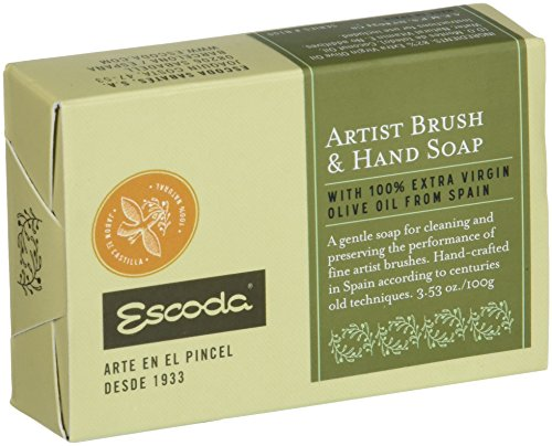 SPEEDBALL ART PRODUCTS Escoda Natural Artist Brush & Hand Soap