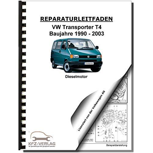 VW Transporter T4 90-03 5-Zyl 2,5l Dieselmotor TDI 75-150 PS Reparaturanleitung