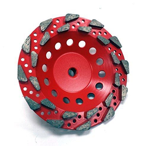 New 7' Extra Coarse 20Grit Diamond Grinding Cup Wheel- Premium Quality