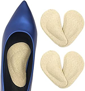 Dr. Foot's Arch Support Insoles for Flat Feet, Plantar Fasciitis, Relieve Pain for Women and Men - 2pairs (Beige)