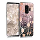kwmobile Hülle kompatibel mit Samsung Galaxy S9 Plus - Handyhülle - Handy Hülle Glory Pink Rosegold