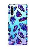 Oihxse Mode Motif de Diamant Case Compatible pour Huawei P Smart/Enjoy 7S/Honor 9 Lite Coque...