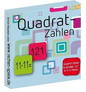 Rechen-Spielkarten für Schüler der 4.-5. Klasse Quadrat-Zahlen 1x1 - 20x20 und ein paar Aufgaben im Großen 1x1, zb. 10x11 Aufgabe und Ergebnis auf einer Karte leichte Aufgaben und schwierige Aufgaben 63 Lernkarten