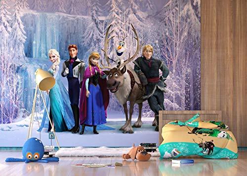 AG Design Carta da Parati Fotografica ftdxxl2231, Motivo: Fiabe Disney Frozen